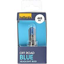 image of Halfords 448 H1 Off Road Blue Car Bulb x 1