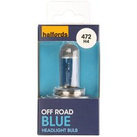 Halfords (HUB472) Ultra Blue Car Bulb x 1