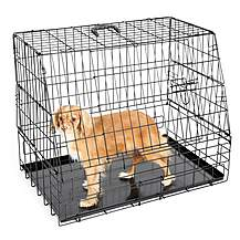 image of Halfords Medium Slanted Dog Crate