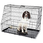 image of Halfords Large Slanted Dog Crate