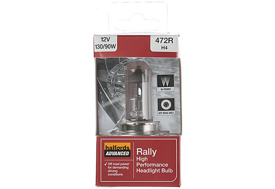 Halfords Rally (HBU472) 130/90W Single Car Bulb