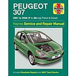 Haynes Peugeot 307 (01 - 08) Manual