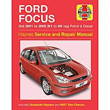 image of Haynes Ford Focus (Oct 01 - 05) Manual