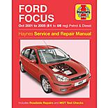 Haynes Ford Focus (Oct 01 - 05) Manual