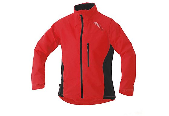 Altura Womens Ascent Waterproof Jacket Red