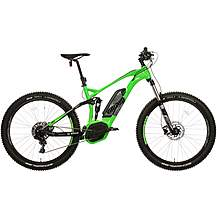 "image of Voodoo Zobop Full Suspension Electric Mountain Bike - 16"", 18"", 20"" Frames"