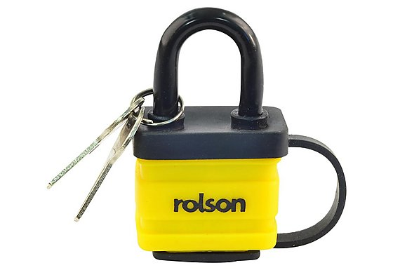 Rolson 40mm Laminated Padlock