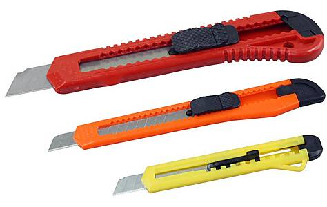image of Rolson 3pc Utility Knife Set