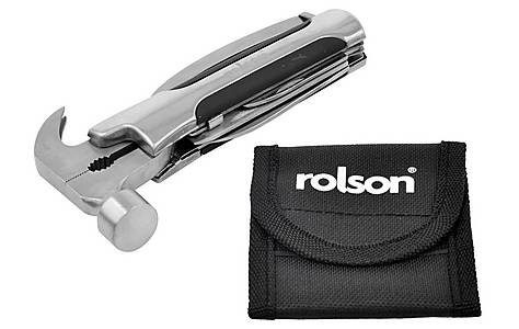 image of Rolson 9 Function Hammer Multi Tool