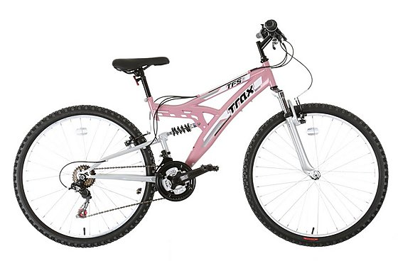 Trax TFS.1 Womens Full Suspension Mountain Bike
