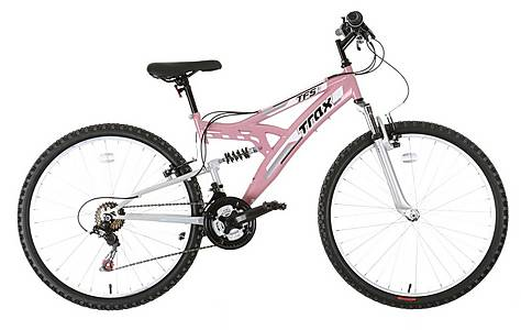 image of Trax TFS.1 Womens Full Suspension Mountain Bike
