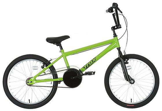 Trax BMX Bike Green - 20