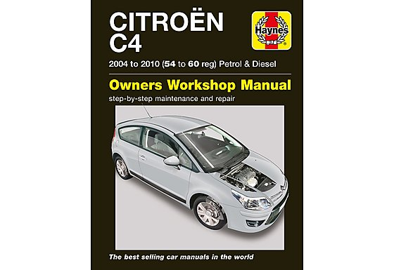 Haynes Citroen C4 Petrol and Diesel (Sept 04 - 10) 54-60 Manual