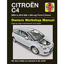 image of Haynes Citroen C4 Petrol and Diesel (Sept 04 - 10) 54-60 Manual