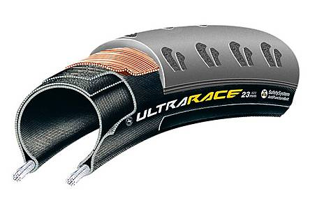 image of Continental Ultra Race Tyre - 700 x 23c