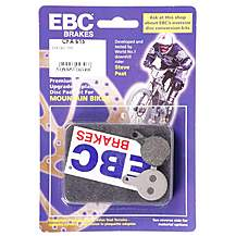 image of EBC Tektro Lyra / IOX.11 Disc Brake Pads - Green