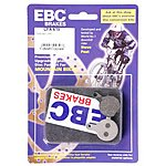 image of EBC Tektro Lyra / IOX.11 Disc Brake Pads - Green