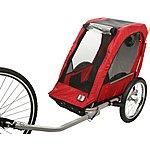 image of Halfords Single Child Bike Trailer