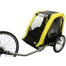 image of Halfords Double Child Bike Trailer