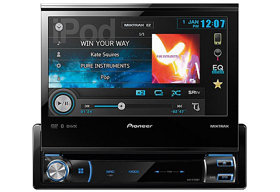 Pioneer AVH-X7500BT Double Din Multimedia player with 7