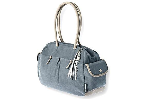 Basil Elements Shoulder Bag Faded Blue 28