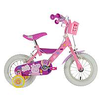 image of Peppa Pig Girls Bike - 12""