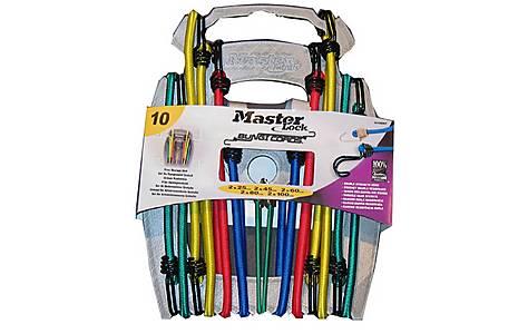 image of Master Lock 10 Piece Bungee Organiser