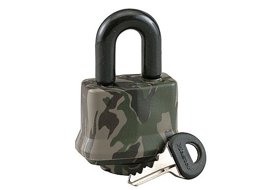 Master Lock 44mm Laminated Camo Waterproof Padlock