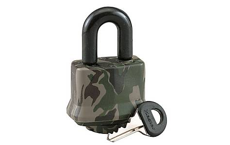image of Master Lock 44mm Laminated Camo Waterproof Padlock