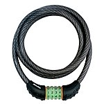 image of Master Lock Quantum Combi Phosphorescent Cable Lock - 1800 x 12mm