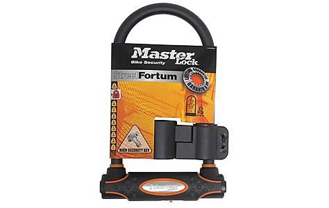 image of Master Lock Street Fortum Gold Sold Secure D Lock 280x110mm - Black