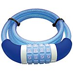 image of Master Lock Resettable Combination Kids Cable Lock - Blue - 1200 x 8mm
