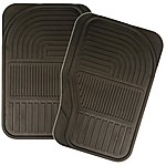 image of Halfords Rubber Car Mats - Front Pair