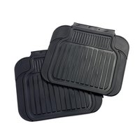 Halfords Rubber Car Mats - Rear Pair