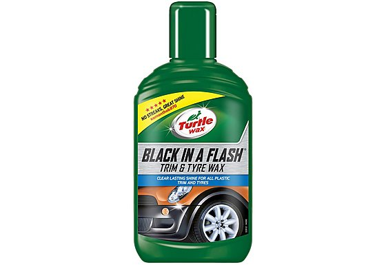 Turtle Wax Black in a Flash Gel 300ml