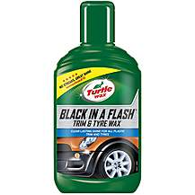 image of Turtle Wax Black in a Flash Gel 300ml