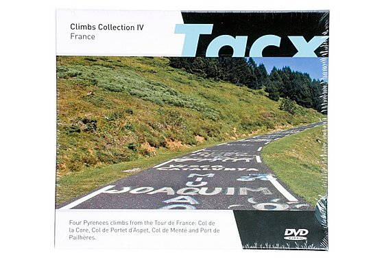 Tacx Fortius I-Magic RLV Climbs Collection IV, France - Virtual Training Software