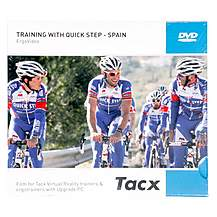 image of Tacx Fortius I-Magic Ergo Video Training with Quick Step, Spain - Virtual Training Software