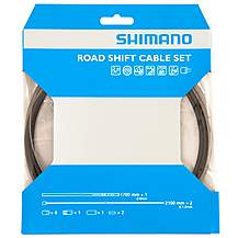 image of Shimano Road Gear Cable Set with PTFE Coated Inner Wire