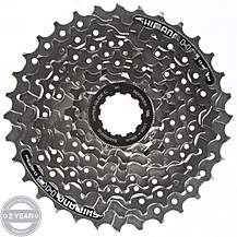 image of Shimano CS-HG41 8 Speed Cassette 11-32T
