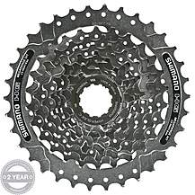 image of Shimano CS-HG41 8 Speed Cassette 11-34T