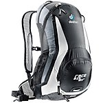 image of Deuter Race EXP Air Backpack - Black White
