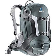 image of Deuter Trans Alpine 25 Backpack - Granite Black