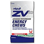 image of Zipvit Sport Zv10 Energy Chews Watermelon and Pomegranate - 16 x 60g Packets