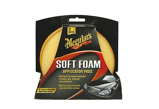 Meguiar's Soft Foam Applicator Pads Twin Pack