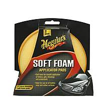 image of Meguiar's Soft Foam Applicator Pads Twin Pack