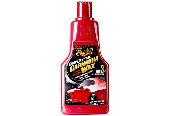 Meguiar's Deep Crystal Carnauba Car Wax 473ml