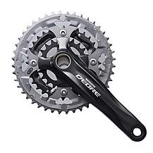image of Shimano FC-M590 Deore 2 Piece Design Chainset, 9-speed - 44/32/22T, 170 mm