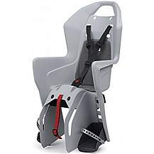 image of Polisport Koolah Carrier Fixing Child Seat, Light Grey/Grey