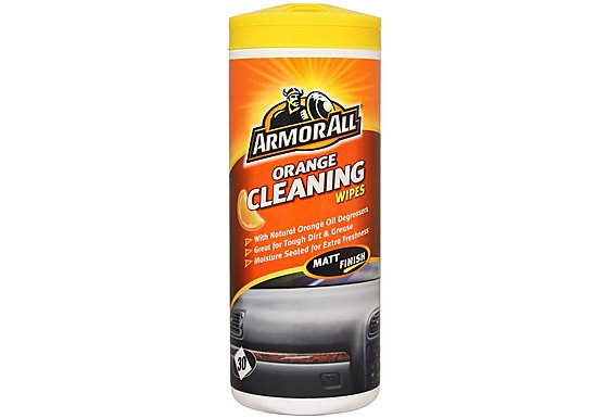 Armor All Orange Cleaning Wipes - Matt Finish x 30